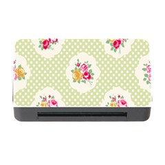 Green Shabby Chic Memory Card Reader With Cf by 8fugoso