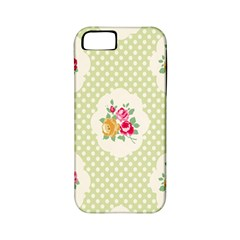 Green Shabby Chic Apple Iphone 5 Classic Hardshell Case (pc+silicone) by 8fugoso