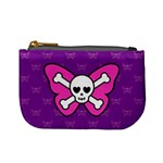 Cute Butterfly Skull Coin Change Purse