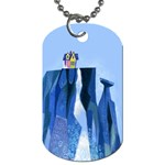 House on Paradise Dog Tag (Two-sided)
