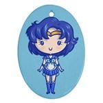 Cutie Mercury Oval Ornament