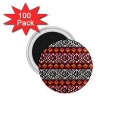 Aztec Mayan Inca Pattern 7 1 75  Magnets (100 Pack)  by Cveti