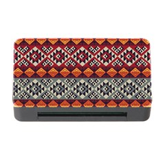 Aztec Mayan Inca Pattern 7 Memory Card Reader With Cf by Cveti