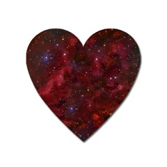 Abstract Fantasy Color Colorful Heart Magnet by Celenk