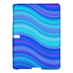 Blue Background Water Design Wave Samsung Galaxy Tab S (10 5 ) Hardshell Case  by Celenk