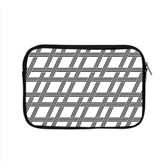 Grid Pattern Seamless Monochrome Apple Macbook Pro 15  Zipper Case by Celenk