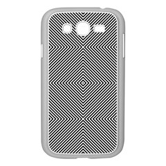Diagonal Stripe Pattern Seamless Samsung Galaxy Grand Duos I9082 Case (white) by Celenk