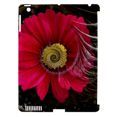 Fantasy Flower Fractal Blossom Apple Ipad 3/4 Hardshell Case (compatible With Smart Cover) by Celenk