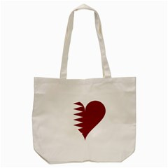 Heart Love Flag Qatar Tote Bag (cream) by Celenk