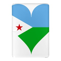 Heart Love Flag Djibouti Star Samsung Galaxy Tab Pro 12 2 Hardshell Case by Celenk