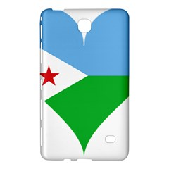 Heart Love Flag Djibouti Star Samsung Galaxy Tab 4 (8 ) Hardshell Case  by Celenk