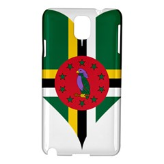 Heart Love Flag Antilles Island Samsung Galaxy Note 3 N9005 Hardshell Case