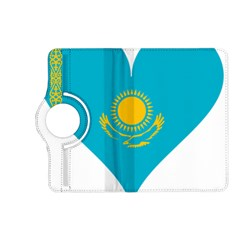 Heart Love Flag Sun Sky Blue Kindle Fire Hd (2013) Flip 360 Case by Celenk