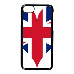 Heart Love Heart Shaped Flag Apple Iphone 8 Seamless Case (black) by Celenk
