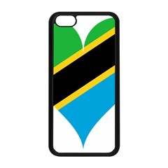 Heart Love Tanzania East Africa Apple Iphone 5c Seamless Case (black) by Celenk
