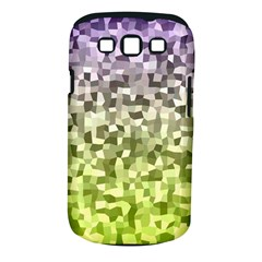 Irregular Rectangle Square Mosaic Samsung Galaxy S Iii Classic Hardshell Case (pc+silicone) by Celenk