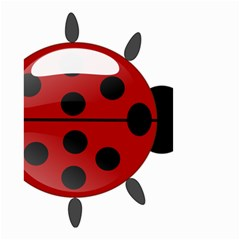 Ladybug Insects Colors Alegre Small Garden Flag (two Sides) by Celenk