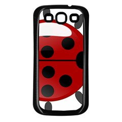 Ladybug Insects Colors Alegre Samsung Galaxy S3 Back Case (black) by Celenk