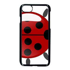 Ladybug Insects Colors Alegre Apple Iphone 8 Seamless Case (black) by Celenk