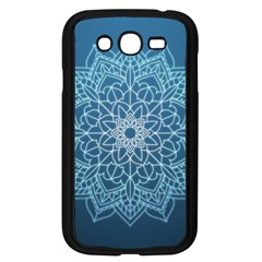 Mandala Floral Ornament Pattern Samsung Galaxy Grand Duos I9082 Case (black) by Celenk