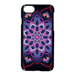 Mandala Circular Pattern Apple Iphone 8 Seamless Case (black) by Celenk