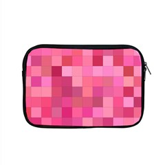Pink Square Background Color Mosaic Apple Macbook Pro 15  Zipper Case by Celenk