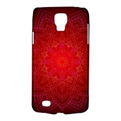 Mandala Ornament Floral Pattern Galaxy S4 Active by Celenk