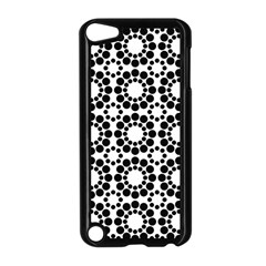 Pattern Seamless Monochrome Apple Ipod Touch 5 Case (black) by Celenk