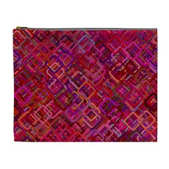 Pattern Background Square Modern Cosmetic Bag (xl) by Celenk