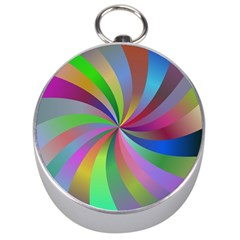 Spiral Background Design Swirl Silver Compasses by Celenk
