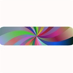 Spiral Background Design Swirl Large Bar Mats by Celenk
