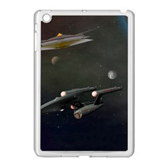 Space Travel Spaceship Space Apple Ipad Mini Case (white) by Celenk