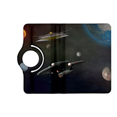 Space Travel Spaceship Space Kindle Fire Hd (2013) Flip 360 Case by Celenk