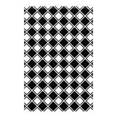 Square Diagonal Pattern Seamless Shower Curtain 48  X 72  (small)  by Celenk