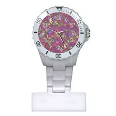 Triangle Background Abstract Plastic Nurses Watch by Celenk