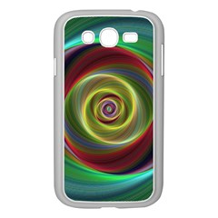 Spiral Vortex Fractal Render Swirl Samsung Galaxy Grand Duos I9082 Case (white) by Celenk