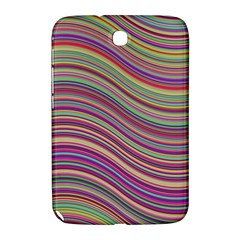 Wave Abstract Happy Background Samsung Galaxy Note 8 0 N5100 Hardshell Case