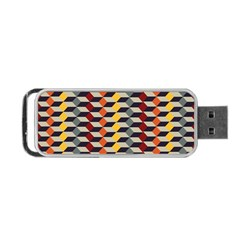Native American 7 Portable Usb Flash (two Sides) by Cveti