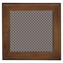 Native American Pattern 2 Framed Tiles by Cveti
