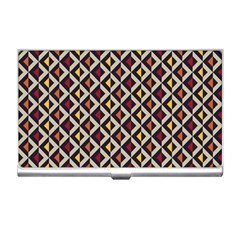 Native American Pattern 5 Business Card Holders by Cveti