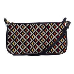 Native American Pattern 5 Shoulder Clutch Bags by Cveti