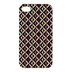 Native American Pattern 5 Apple Iphone 4/4s Hardshell Case by Cveti