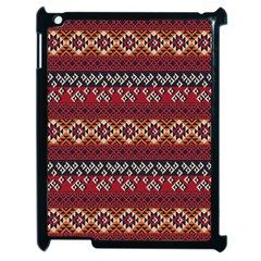 Native American Pattern 8 Apple Ipad 2 Case (black) by Cveti