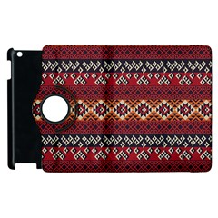 Native American Pattern 8 Apple Ipad 3/4 Flip 360 Case by Cveti