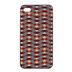 Native American 13 Apple Iphone 4/4s Seamless Case (black) by Cveti