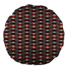 Native American 13 Large 18  Premium Flano Round Cushions by Cveti