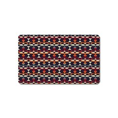 Native American Pattern 14 Magnet (name Card) by Cveti