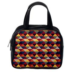 Native American Pattern 16 Classic Handbags (one Side) by Cveti