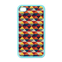 Native American Pattern 16 Apple Iphone 4 Case (color) by Cveti