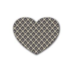 Native American 17 Heart Coaster (4 Pack)  by Cveti